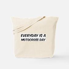 Motocross everyday Tote Bag