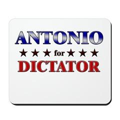 ANTONIO for dictator Mousepad