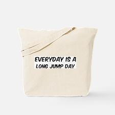 Long Jump everyday Tote Bag