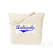 Aaliyah Vintage (Blue) Tote Bag
