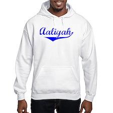 Aaliyah Vintage (Blue) Hoodie Sweatshirt