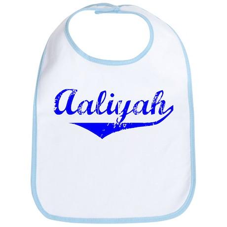 Aaliyah Vintage (Blue) Bib