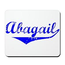 Abagail Vintage (Blue) Mousepad