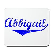 Abbigail Vintage (Blue) Mousepad