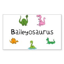 Baileyosaurus Rectangle Decal