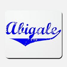 Abigale Vintage (Blue) Mousepad
