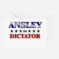 ANSLEY for dictator Greeting Card