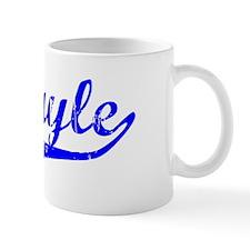 Abigayle Vintage (Blue) Coffee Mug