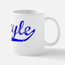 Abigayle Vintage (Blue) Mug