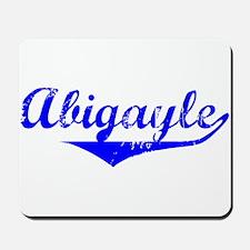 Abigayle Vintage (Blue) Mousepad