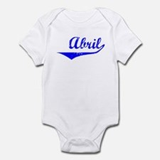 Abril Vintage (Blue) Infant Bodysuit