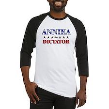 ANNIKA for dictator Baseball Jersey
