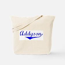 Addyson Vintage (Blue) Tote Bag