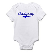 Addyson Vintage (Blue) Infant Bodysuit