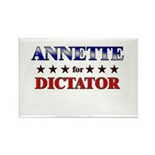 ANNETTE for dictator Rectangle Magnet