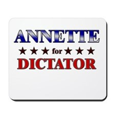 ANNETTE for dictator Mousepad