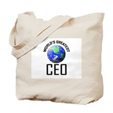 World's Greatest CEO Tote Bag