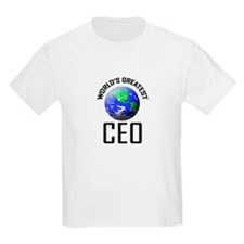World's Greatest CEO T-Shirt