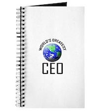 World's Greatest CEO Journal