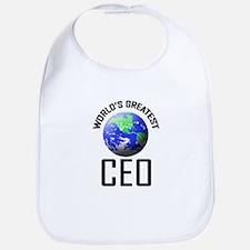World's Greatest CEO Bib