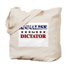 ANNALISE for dictator Tote Bag