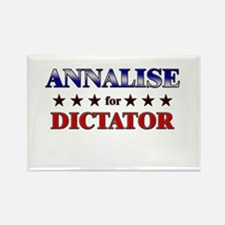 ANNALISE for dictator Rectangle Magnet