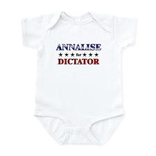 ANNALISE for dictator Infant Bodysuit