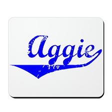 Aggie Vintage (Blue) Mousepad