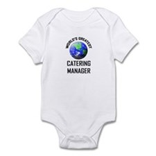 World's Greatest CATERING MANAGER Infant Bodysuit