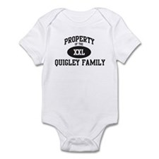 Property of Quigley Family Infant Bodysuit