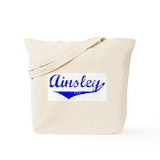 Ainsley Vintage (Blue) Tote Bag