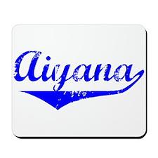Aiyana Vintage (Blue) Mousepad