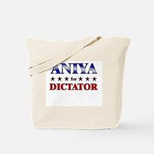 ANIYA for dictator Tote Bag