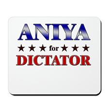 ANIYA for dictator Mousepad