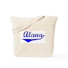 Alana Vintage (Blue) Tote Bag