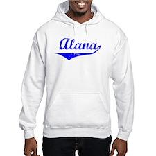 Alana Vintage (Blue) Hoodie Sweatshirt