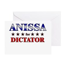 ANISSA for dictator Greeting Card