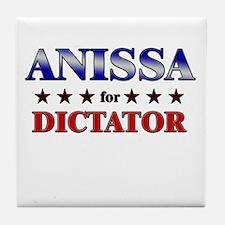 ANISSA for dictator Tile Coaster