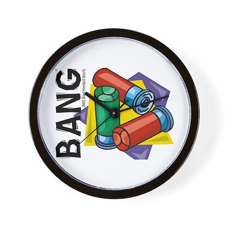 BANG Brand Wall Clock