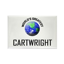 World's Greatest CARTWRIGHT Rectangle Magnet