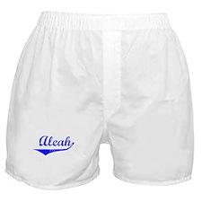 Aleah Vintage (Blue) Boxer Shorts