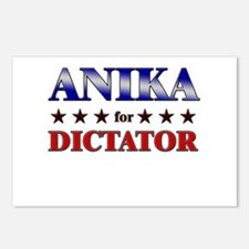 ANIKA for dictator Postcards (Package of 8)