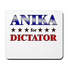 ANIKA for dictator Mousepad