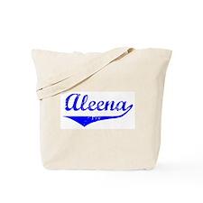 Aleena Vintage (Blue) Tote Bag