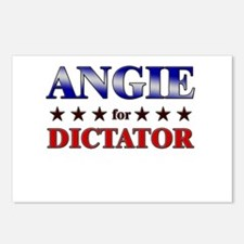 ANGIE for dictator Postcards (Package of 8)