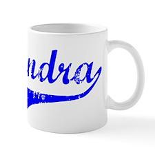 Alejandra Vintage (Blue) Mug