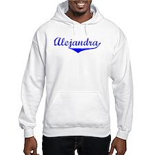 Alejandra Vintage (Blue) Jumper Hoody