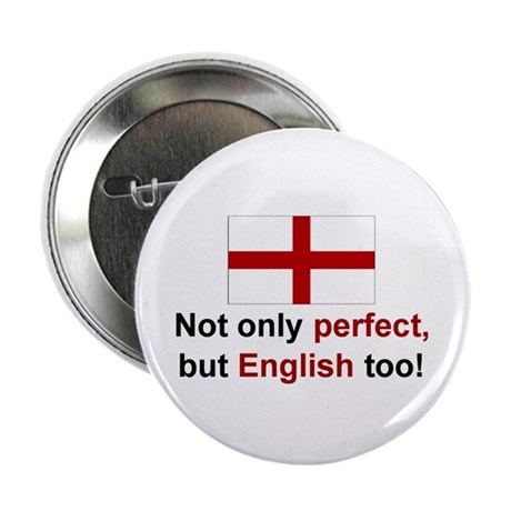 "Perfect English 2.25"" Button (10 pack)"