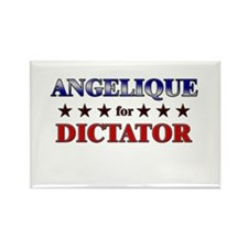 ANGELIQUE for dictator Rectangle Magnet