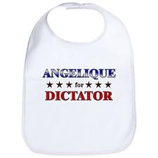 ANGELIQUE for dictator Bib